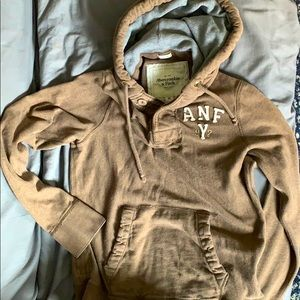Abercrombie & Fitch brown hoodie very comfortable